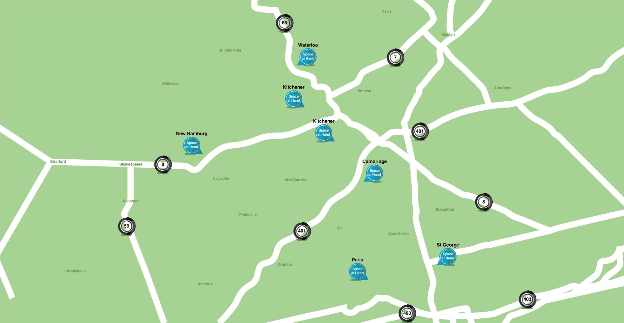 Kitchener Paris New Hamburg Waterloo Cambridge